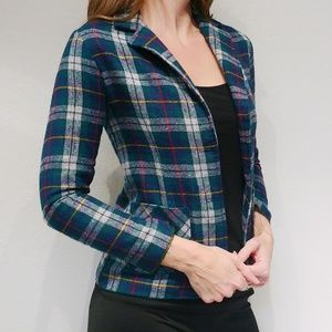 Fabulous Vintage Plaid Blazer